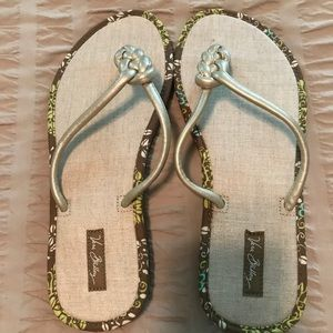 Flip flops!  Cute as a button